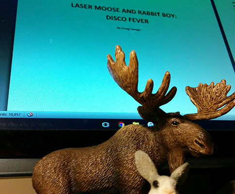 Get ready for Laser Moose book two
