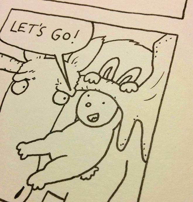Laser Moose and Rabbit Boy 2 underway