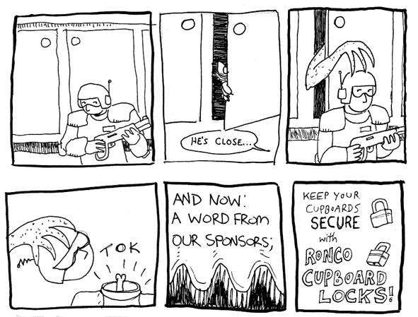 Vancouver Comic Jam example