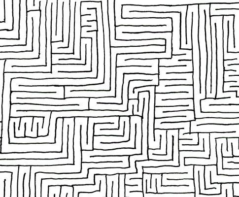 Doodling mazes
