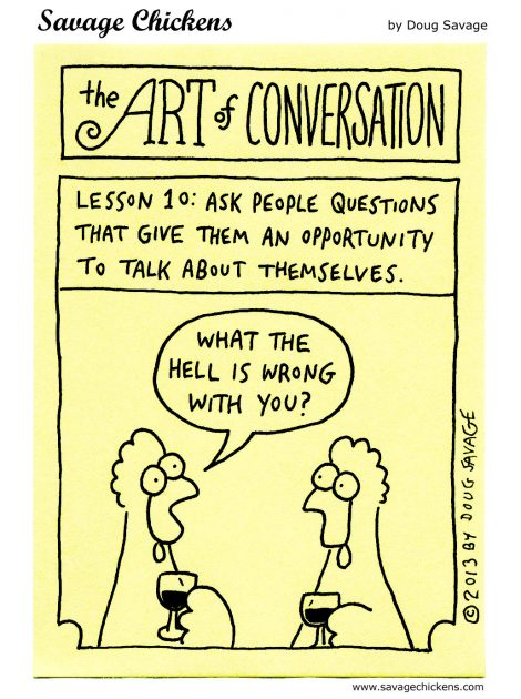 Art of Conversation, Lesson 10, revisited